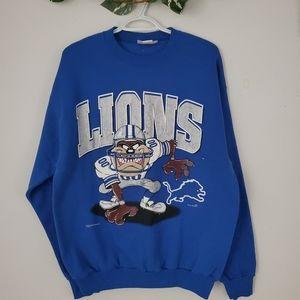 Vintage | Detroit Lions | Warner Brothers Sweater